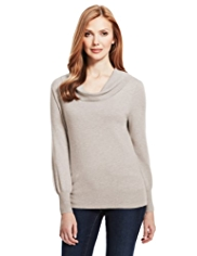 M&S Collection Cowl Neck Jumper