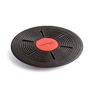 PhysioRoom Adjustable Balance Wobble Board 40cm - Rehabilitation, Stability Exercises, Core Training, Strengthen Muscles, Workout, Gym, Fitness - BBAD-16