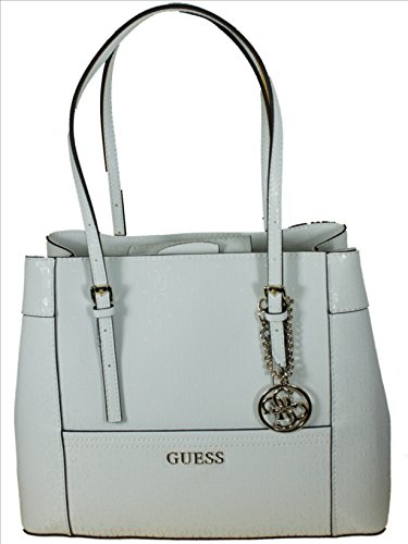 Guess Delaney Shopper Tasche 39 cm white