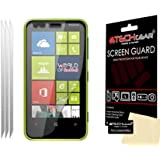 Techgear Clear LCD Screen Protector for Nokia Lumia 620 (Pack of 3)