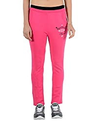 2DAYs Women Cotton Yoga Pyjama (Fushia)