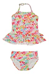 Kate Mack Baby Infant Love Is In The Air Swimsuit, Multi