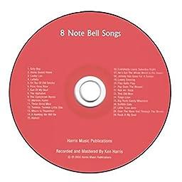Rhythm Band 8 Note Bell Songs CD