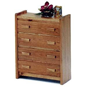 Savannah Heartland 4-Drawer Chest by Woodcrest from Woodcrest Sales