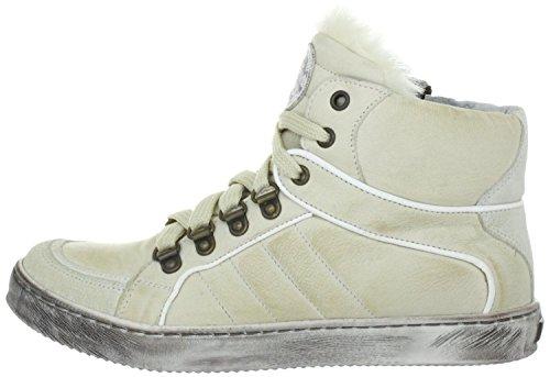 Walk Safari Combo, Sneaker bambine Beige Panna