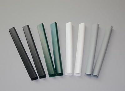24 Stück PVC - Sichtschutzstreifen Klemmschienen - moosgrün von M-tec technology GmbH auf Gartenmöbel von Du und Dein Garten