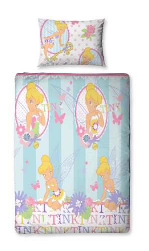 Character World Disney Fairies Cherish Single Rotary Duvet Set, Multi