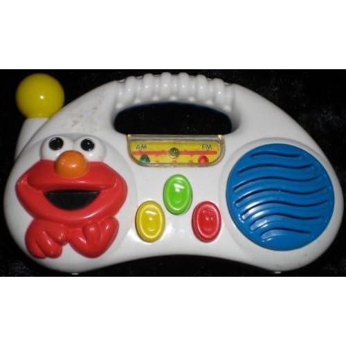 Sesame Street Musical Toys : Amazon sesame street elmo musical radio toy with handle