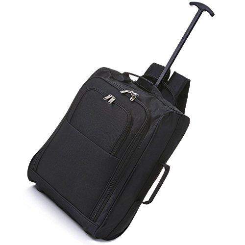 5-cities-21-inch-carry-on-hand-luggage-trolley-bag-with-backpack-option-black