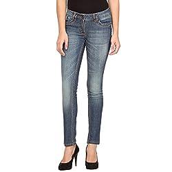 Species Women's Slim Fit Jeans (S-732_Blue_XX-Large)