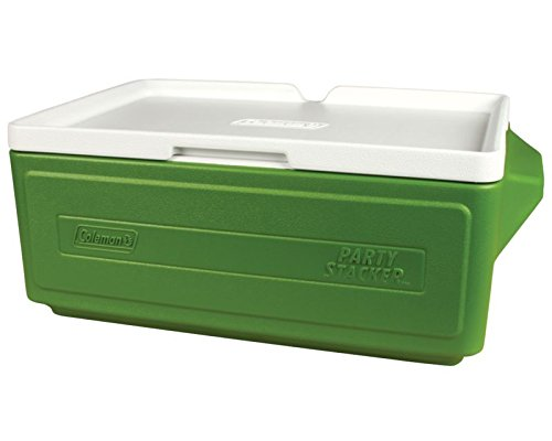 Coleman 24 Can Party Stacker Cooler,Green (6 Can Coleman Cooler compare prices)