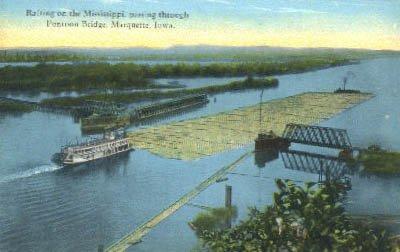 Marquette, Iowa Postcard