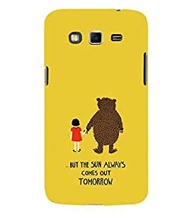 EPICCASE Bear with me case Mobile Back Case Cover For Samsung Galaxy Grand Max & Grand 3 (Designer Case)