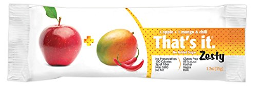 That's It Fruit Bar Zesty, Apples + Mangoes & Chili (Fruit Chili compare prices)