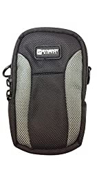 Nikon Coolpix S9700 Digital Camera Case Point & Shoot Digital Camera Case, Black / Grey - Replacement by Synergy Digital
