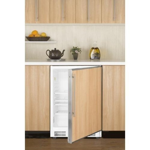 Built In Refrigerators With Custom Panels