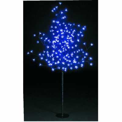 DIRECT SHIP BLUE 200 LED Christmas Blossom Tree 1.5m Decoration