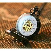 アンティークD 彫刻 懐中時計