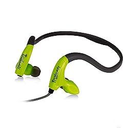 Amkette Pulse S8 695GR Headphones with Mic (Green)