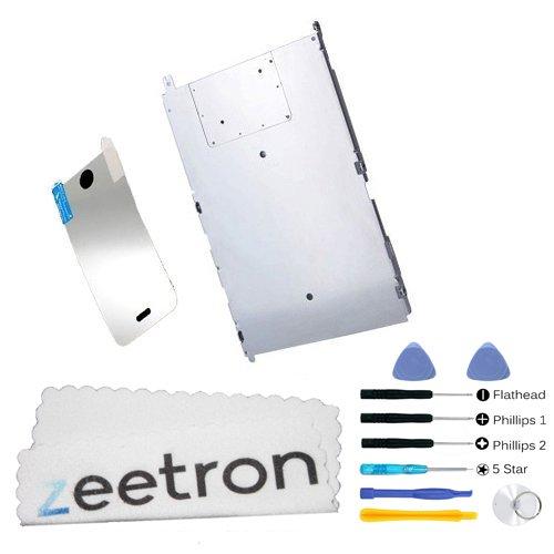 Zeetron Iphone 3G / 3Gs Metal Back Kit (Includes A 6 Piece Tool Kit + Screen Protector + Zeetron Microfiber Cloth)