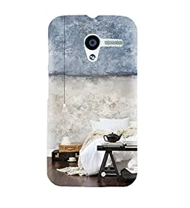 StyleO Moto X designer case and cover printed mobile back cover Bed Tea