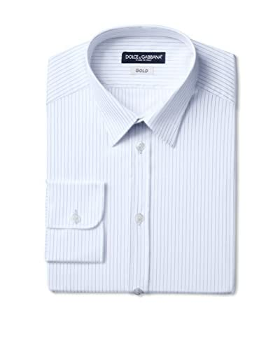 Dolce & Gabbana Men's Stripe Dress Shirt
