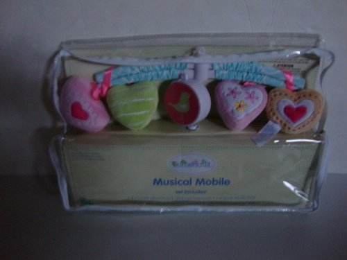 SUMERSAULT SWEET HEARTS MUSICAL MOBILE - 1