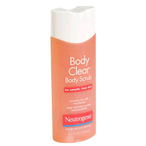 Neutrogena Body Clear Body Scrub for Smooth, Clear Skin, 8.5-Fluid Ounce