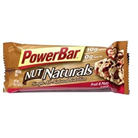 PowerBar Nut Naturals Bar - Box of 15