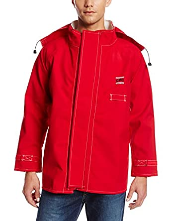 "Ansell 66-660 Sawyer-Tower CPC Polyester Trilaminate Jacket, 30"" Length"