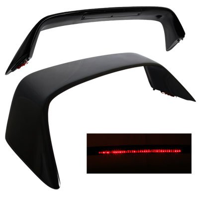 94-01 Acura Integra Type R Black Trunk Spoiler Wing with LED Brake Light (Integra Type R Wing compare prices)