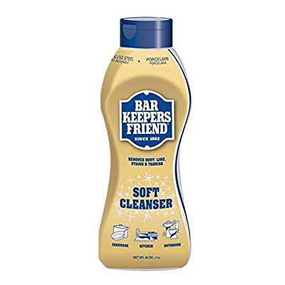 Bar Keeper's Friend Soft Cleanser 13 oz Bottle (Set of 4)