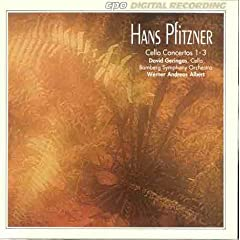 Hans Pfitzner: Cello Concertos 1-3のAmazonの商品頁を開く