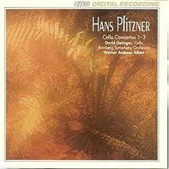 Hans Pfitzner: Cello Concertos 1-3のAmazonの商品頁を開く