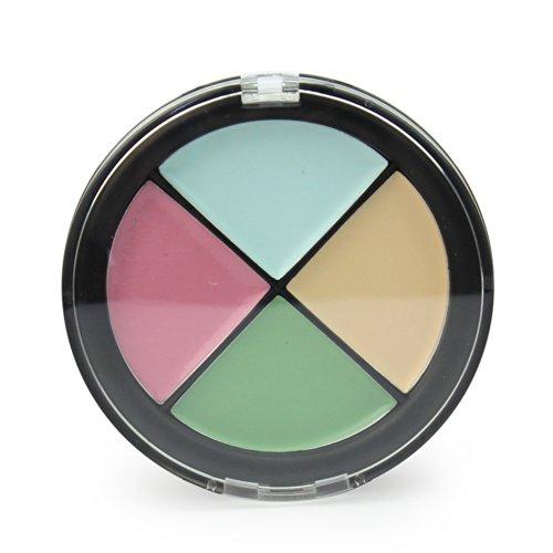 Correcteur 4 Couleurs Palette de Maquillage Cacher Corriger Anti-imperfection