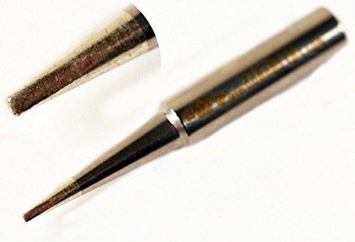 Hakko T18-DL12 - T18 Series Soldering Tip for Hakko FX-888/FX-8801 - Chisel - 1.2 mm x 22.5 mm