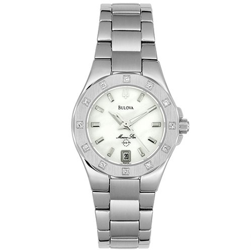 Bulova Women's 96R24 Marine Star Diamond Accent Watch