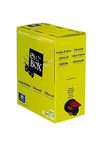 Bio Olivenöl nativ extra 3 L in der Box aus kontrolliert biologischem Anbau