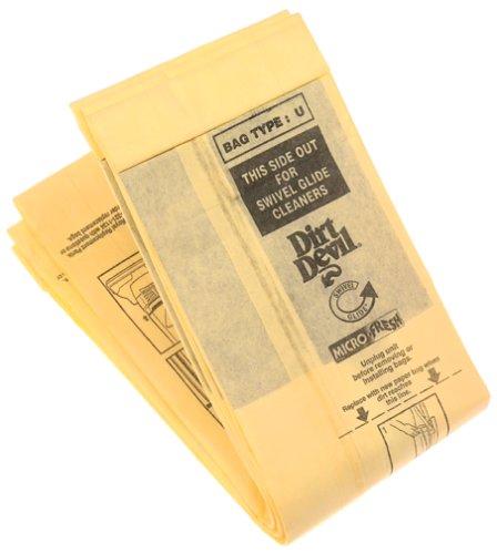 Dirt Devil Type U Microfresh Vacuum Bags (3-Pack), 3920750001 (Dirt Devil Vacuum With Bag compare prices)