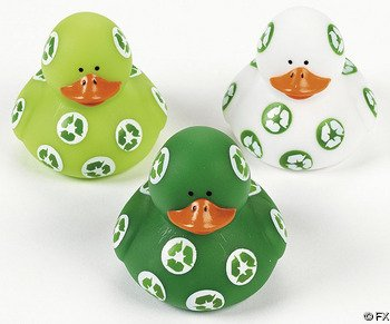 One Dozen (12) Recycle Rubber Ducks