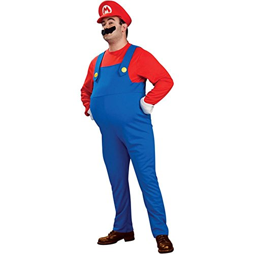 Deluxe Mario Plus Size Costume - Plus Size