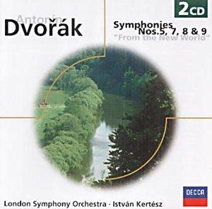 Dvorak: Symphonies Nos.5, 7, 8 & 9