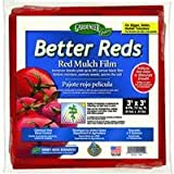 Dalen Gardeneer 3-Foot x 3-Foot Better Reds Red Mulch Film, 8 Pack BR-8