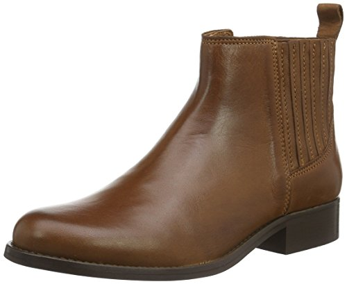 Shoe Biz Bolette, Stivali Chelsea Donna, Marrone (Velvet Cognac), 37 EU