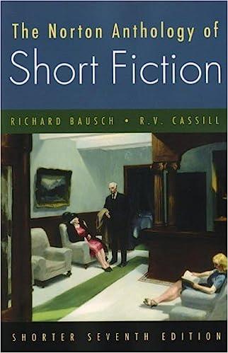 Norton Anthology of Short Fiction ed. by Richard Bausch