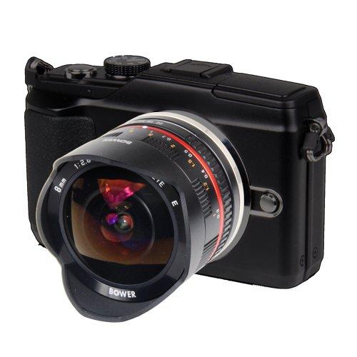 Best Bower SLY288SEB Ultra-Wide 8mm f/2.8 Fisheye Lens for Sony E (NEX) Digital website
