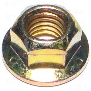 3/8-16 Grade 8 Hex Flange Lock Nut (15 pieces)