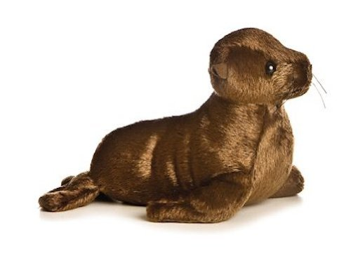California Sea Lion Stuffed Animal<br>Aurora Plush Flopsies <br>8 Inches