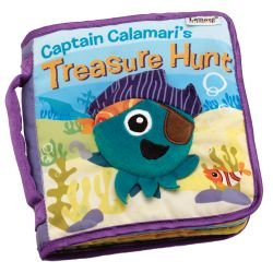 LAMAZE CAPTAIN CALAMARI TREASURE HUNT SOFT BOOK