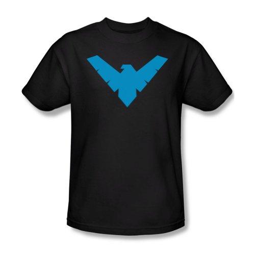 Batman Nightwing Robin Symbol Black Mens T-shirt (XXL) at Gotham City Store